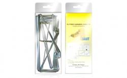 Комплект оцинкованных хомутов BAUT SKK 65 для кладки на ребро внутрь, проем до 1,5 м