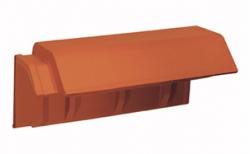 Керамическая черепица пультовая Koramic Alegra 9 Red Engobe