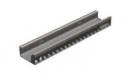 Лоток водоотводный Gidrolica Standart Plus DN150 ЛВ-15.19,6.10 кл. С250 усиленный, 1000*198*102 мм