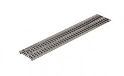 Решетка водоприемная Gidrolica Standart DN150 РВ-15.18,6.100 кл. А15 оцинкованная, 1000*186*15 мм