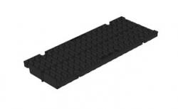 Решетка водоприемная Gidrolica Pro DN150 РВ-15.18,8.50 кл. С250 пластиковая, 500*188*21 мм