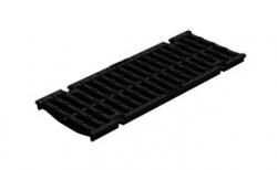 Решетка водоприемная Gidrolica Standart DN150 РВ-15.19.50 кл. D400 чугунная, 500*190*21 мм