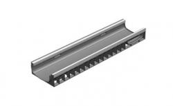 Лоток водоотводный Gidrolica Standart Plus DN200 ЛВ-20.24,6.10 кл. С250, 1000*248*102 мм