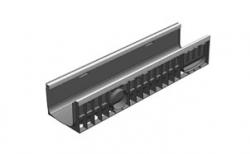 Лоток водоотводный Gidrolica Standart Plus DN200 ЛВ-20.24,6.18,5 кл. С250, 1000*248*188 мм