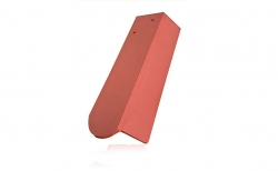 Керамическая черепица половинчатая боковая правая Koramic Biber Natural Red
