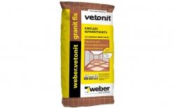 weber.vetonit granit fix 25 кг
