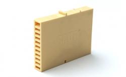 Вентиляционно-осушающая коробочка BAUT желтая, 80*60*10 мм