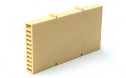 Вентиляционно-осушающая коробочка BAUT желтая, 115*60*10 мм