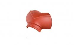 Керамическая черепица начальная вальмовая №2/3 Koramic Biber Natural Red
