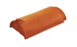 Керамическая черепица начальная коньковая Koramic №1 Slate Engobe
