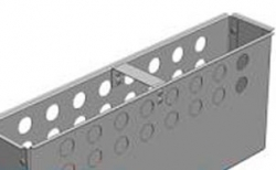 Корзина универсальная для пескоуловителя Gidrolica DN100, 400*80*163,5 мм