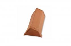 Начальная коньковая керамическая черепица Laumans IDEAL SUPRA для односкатной крыши