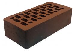 Кирпич лицевой коричневый 'Кантри' с поверхностью Руст