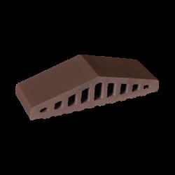 Профильный кирпич для забора King Klinker 03 Natural brown
