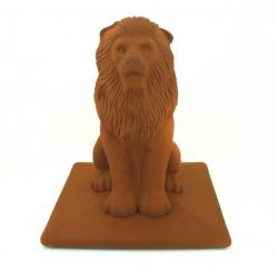 Клинкерный декоративный элемент для забора King Klinker Lion