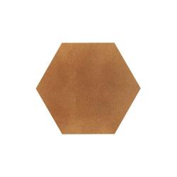 Paradyz Aquarius Brown Heksagon плитка напольная 26×26