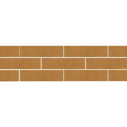 Paradyz Aquarius Brown плитка фасадная гладкая 6,6×24,5