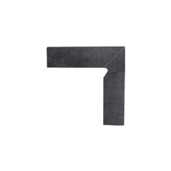 Paradyz Bazalto Grafit плинтус правый 2-х элемент. 8,1×30