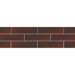 Paradyz Cloud Brown (Plain) плитка фасадная гладкая 6,6×24,5