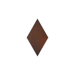 Paradyz Cloud Brown DURO Romb декор напольный структурный 14,6×25,2