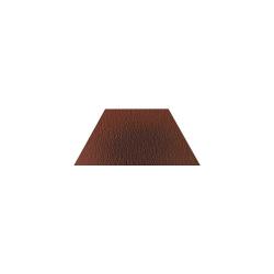 Paradyz Cloud Brown DURO Trapez декор напольный структурный 12,6×29,6