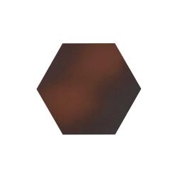 Paradyz Cloud Brown Heksagon плитка напольная 26×26