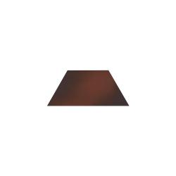 Paradyz Cloud Brown Trapez декор напольный 12,6×29,6