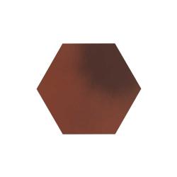 Paradyz Cloud Rosa (Plain) Heksagon плитка напольная 26×26