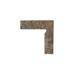 Paradyz Ilario Brown плинтус 2-х элем правый 8,1×30