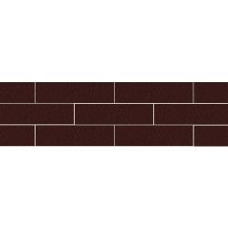 Paradyz Natural Brown DURO плитка фасадная структурная 6,6×24,5