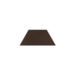 Paradyz Natural Brown DURO Trapez декор напольный структурный 12,6×29,6