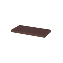 Paradyz Natural Brown (Plain) подоконник гладкий 10×20