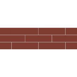 Paradyz Natural Rosa (Plain) плитка фасадная гладкая 6,6×24,5