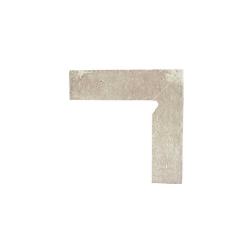Paradyz Scandiano Beige плинтус правый структурный 2-х элем, 8,1×30