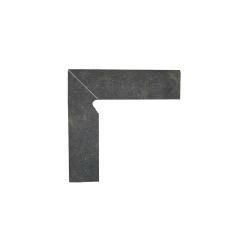 Paradyz Scandiano Brown плинтус левый структурный 2-х элем 8,1×30