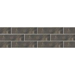 Paradyz Scandiano Brown плитка фасадная структурная 6,6×24,5