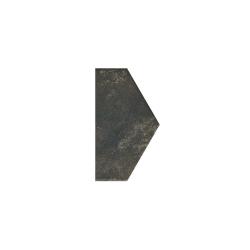 Paradyz Scandiano Brown Polowa декор напольный 14,8×26