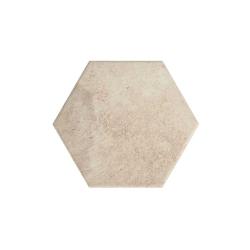 Paradyz Scandiano Ochra Heksagon плитка напольная 26×26