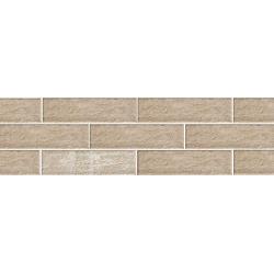 Paradyz Scandiano Ochra плитка фасадная структурная 6,6×24,5