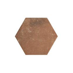 Paradyz Scandiano Rosso Heksagon плитка напольная 26×26