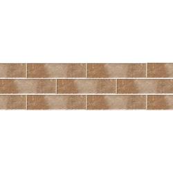 Paradyz Scandiano Rosso плитка фасадная структурная 6,6×24,5