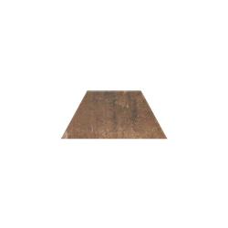 Paradyz Scandiano Rosso Trapez декор напольный 12,6×29,6