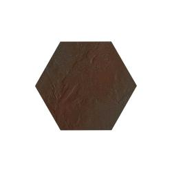 Paradyz Semir Brown Heksagon плитка напольная 26×26