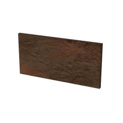 Paradyz Semir Brown подступенник структурный 14,8×30