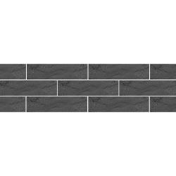 Paradyz Semir Grafit плитка фасадная структурная 6,6×24,5