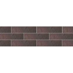 Paradyz Semir Rosa плитка фасадная структурная 6,6×24,5