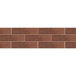 Paradyz Taurus Brown плитка фасадная структурная 6,6×24,5