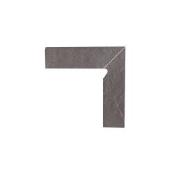 Paradyz Taurus Grys плинтус правый 2-х элемент. 8,1×30