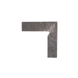 Paradyz Viano Antracite плинтус 2-х элем правый 8,1×30