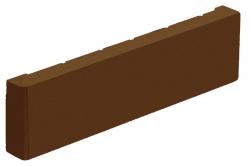 Фасадная керамическая плитка цвета Коричневый